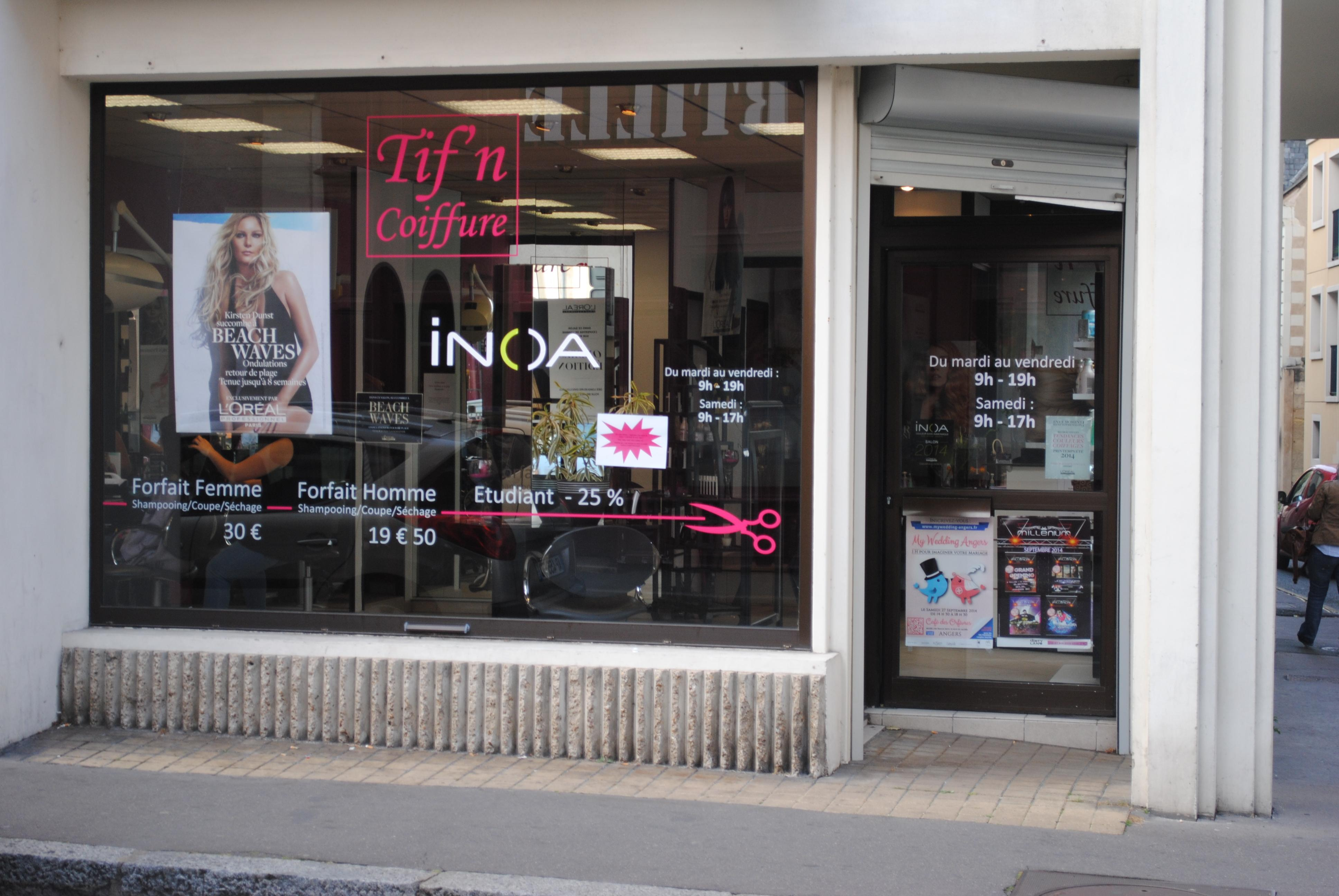 Tif N Coiffure Angers Coiffeurs Angers Maville Com